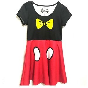 Dresses & Skirts - Disney Minnie Mouse Costume Women's Dress Sz Med